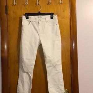 Never Worn Loft White Wash Modern Skinny Jeans